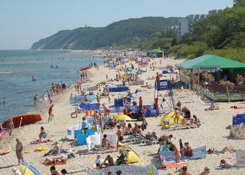 Der Strand von Misdroy